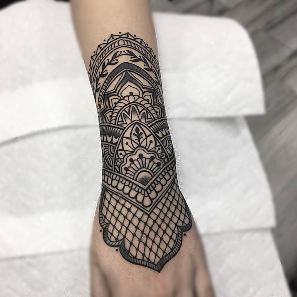 Henna Style Arm Tattoo Juan Insecta Tattoo Artist Miami